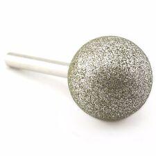"Diamond 40 mm 1-9/16"" Spherical Head Grinding Bit Round Ball Coated Stone Tools"