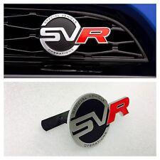 SVR anteriore griglia Badge emblema Range Rover Sport Vogue Evoque JAGUAR F Ritmo