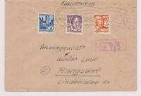 All.Bes./Franz.Zone, 25 u.a., Not-R-Saulgau, 12.2.48, AKS