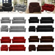 Easy Fit Stretch Sofa Couch Cover 1 2 3 4 Seater Recliner Lounge Removable Farbi