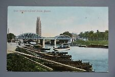 R&L Postcard: River Witham & Grand Sluice Boston, Jay Em Jay