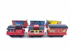 Thomas & Friends Model Trains Learning Curve Take Along Metal Box Cars Carnival