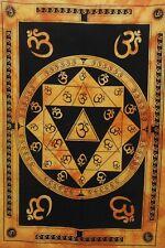 Indian Vastu Yantra Wall Hanging Tapestry Small Poster Throw Om Meditation Sprit