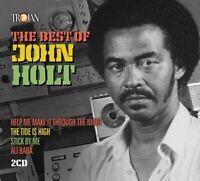 JOHN HOLT - THE BEST OF  2 CD NEW