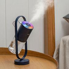 USB Car Home Air Purifier Essential Oil Humidifier LED Ultrasonic Aroma Diffuser