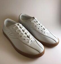 Tretorn Nylite 2 Plus White Leather Women Fashion Sneakers/ Shoes US Size 9 1/2