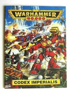 WARHAMMER 40,000 : CODEX IMPERIALIS. 96 PAGES BOOK. ISSUED in 1993.