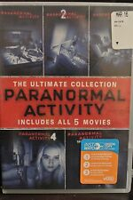 PARANORMAL ACTIVITY The Ultimate Collection 5-Movie Set 1,2,3,4 Marked Ones NEW