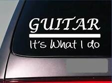 Guitar sticker decal *E297* lead bass strings head tuner electric acoustic pedal