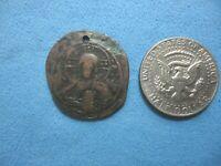 BYZANTINE BRONZE COIN,ANONYMUS FOLIS 10th? CENTURY AD.NICE DETAILS.FREE S/H