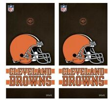 Cleveland Brown Cornhole Vinyl Skin Wrap Nfl Football