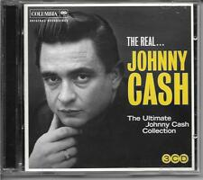 The Real... JOHNNY CASH The Ultimate Collection (3-Disc, CD) NEW