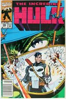 Comic Book - Marvel - The Incredible HULK w. Punisher - #395 1992 - Very Good