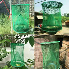 Outdoor Ranch Fly Trap Reusable Fly Catcher Killer Cage Net Trap Pest Bug