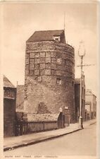 Great Yarmouth Norfolk Uk South East Tower~Tuck Photogravure Postcard