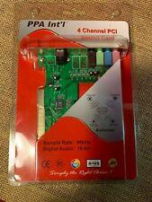 PPA  4 Channel PCI Sound Card 16-bit New Old Stock 1417V