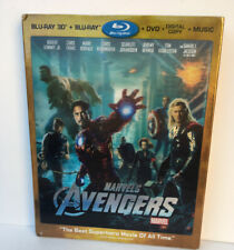 Marvels Avengers Blu-Ray 3D (Blu-ray/DVD / Digital Copy/ Music 2012 4-Disc)