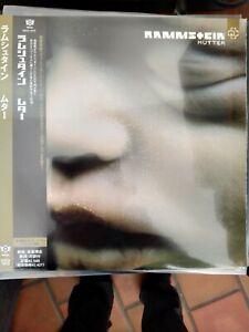 Rammstein MUTTER LP JAPAN version