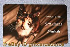 """Winners Homesense Marshalls """"Calico Cat"""" Gift Card No Value New"""