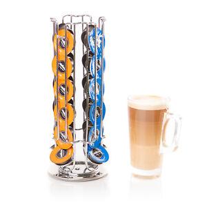 Lavazza Coffee Capsule Holder 24 Pods Rotating Coffee Pod Stand Moda Mio Beans