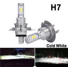2x H7 LED Lamps For Cars Headlight Bulbs Fog Light CREE 6000K Lamp White