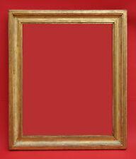 Rahmen - Spiegelrahmen - 19. Jh. - Holz, vergoldet    (# 2663)