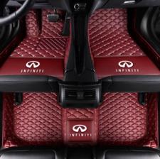 Fit for Infiniti G25 G35 G37 2000~2020 leather Car Floor Mats Waterproof Mat