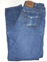 Levis 550 Mens VTG Orange Tab Made in USA 36x30 Medium Wash Denim Blue Jeans