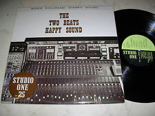 LIBRARY STUDIO ONE Nr.25 THE TWO BEATS HAPPY SOUND  *SAMPLE LP ´73 NOT FOR SALE*