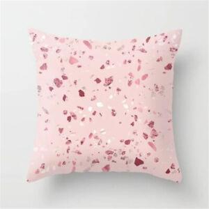 Geometric Cushion Cover Throw Pillow Case Bench Car Plaid Garden Bedroom Outdoor
