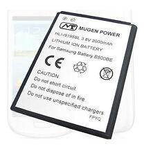 Mugen Power 2000mah Extended Battery Samsung Galaxy S4 S-4 Mini Verizon SCH-i435
