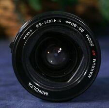 MINOLTA MAXXUM AF Zoom 35-80mm f4(22)-5.6 Zoom Lens fits Minolta & Sony DIGITALS
