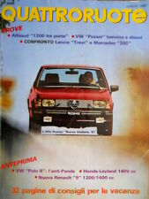 Quattroruote 309 1981 Prove Alfasud 1200 3 porte, VW Passat. Lancia Trevi [Q.33]