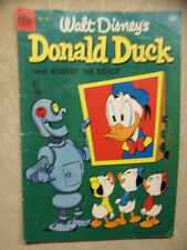DONALD DUCK # 28, ROBERT THE ROBOT, VG+, 4.5, 1953 DELL, GOLDEN AGE COMIC
