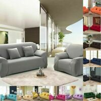 1/2/3/4 Seater Sofa Covers Slipcover Stretch Elastic Couch Furniture Protector