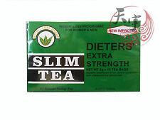 NUTRI LEAF Dieters Herbal Slim Tea-Extra Strength 15 Tea Bags for Weight Loss