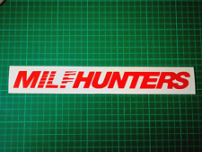 MilfHunters MILF funny Sunstrip Sticker ford honda toyota bmw 300MM
