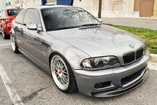 CARKING CARBON FIBER 2x2 CSL type I FRONT LIP SPLITTER for 01-06 BMW E46 M3