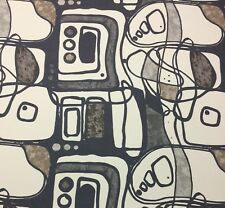 """KRAVET MODFORM GRANITE CONTEMPORARY ABSTRACT PRINT ON COTTON FABRIC BY YARD 54""""W"""