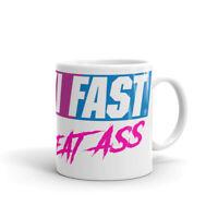 Ski Fast Eat Ass, Ski Mug, Funny Ski Mug, Coffee Mug