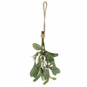 Artificial Mistletoe Stems on String Rope