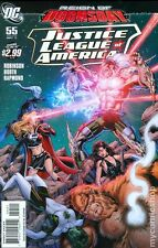 Justice League of America #55 DC Comics 2011 Dan Jurgen 1:10 Variant Cover Comic