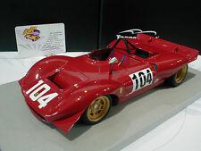 Tecnomodel TM18-37E # Ferrari Dino 212E #104 Winner Montseny 1969 Schetty 1:18