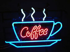 "New Coffee Shop Open Cafe Neon Light Sign 17""x14"""