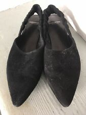 Vagabond Black Flat Slingback Shoes UK 5 New