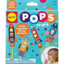 Alex Toys Creative Gifts - Little Launcher Straw Rockets Crafts for Children