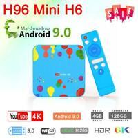 Android 9.0 TV Set Top Box 4GB+128GB WiFi Quad Core USB HDMI Media Player