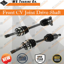 Pair Brand New CV Joint Drive Shaft Suzuki Grand Vitara 2.5L V6 1998 - 2005 L&R