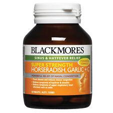 BLACKMORES HORSERADISH, GARLIC AND C 50 TABLETS