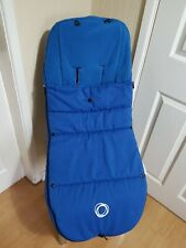 Bugaboo Velcro Toggle Footmuff  Off White BNIP Free UK Postage Latest style